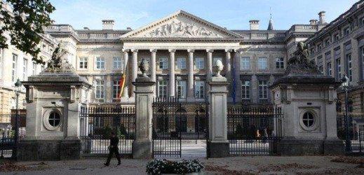 Sénat de Belgique – Protection du plancher et de la charpente porteuse